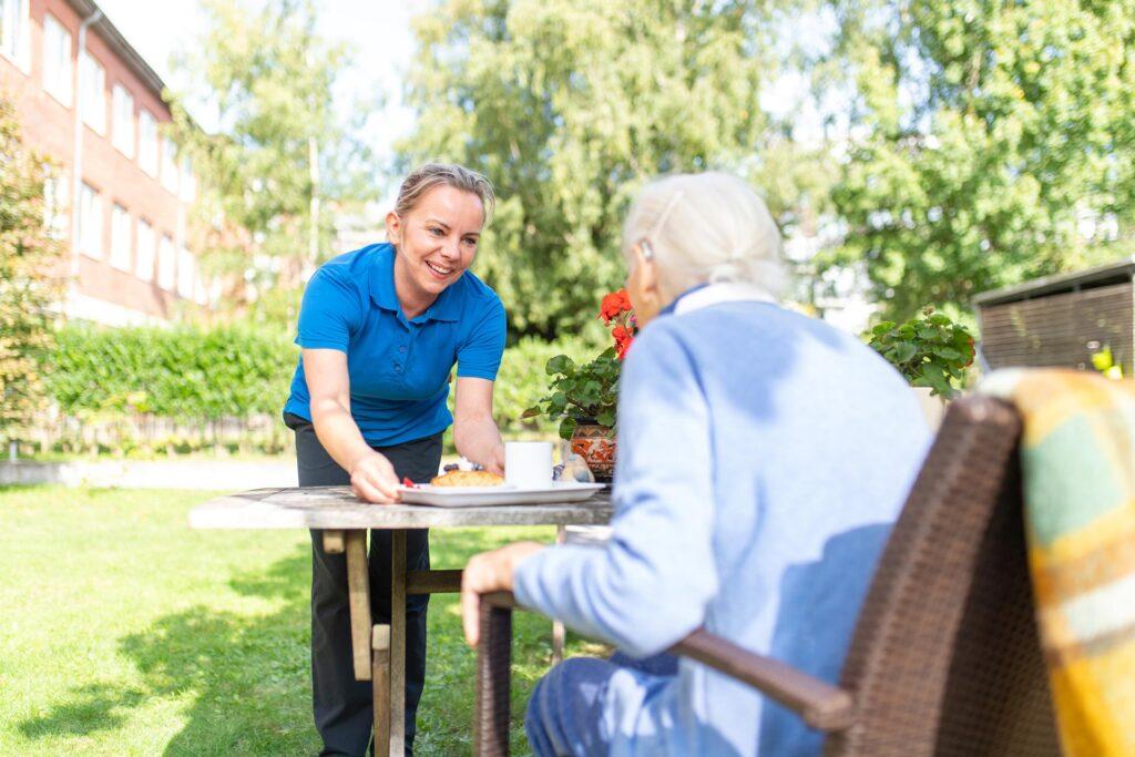 Leben und Pflege im Hospiz Sinus Hamburg