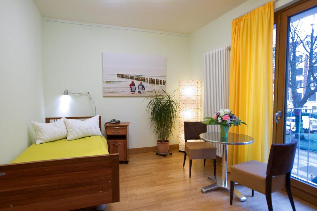 Hospiz Sinus Barmbek Zimmer