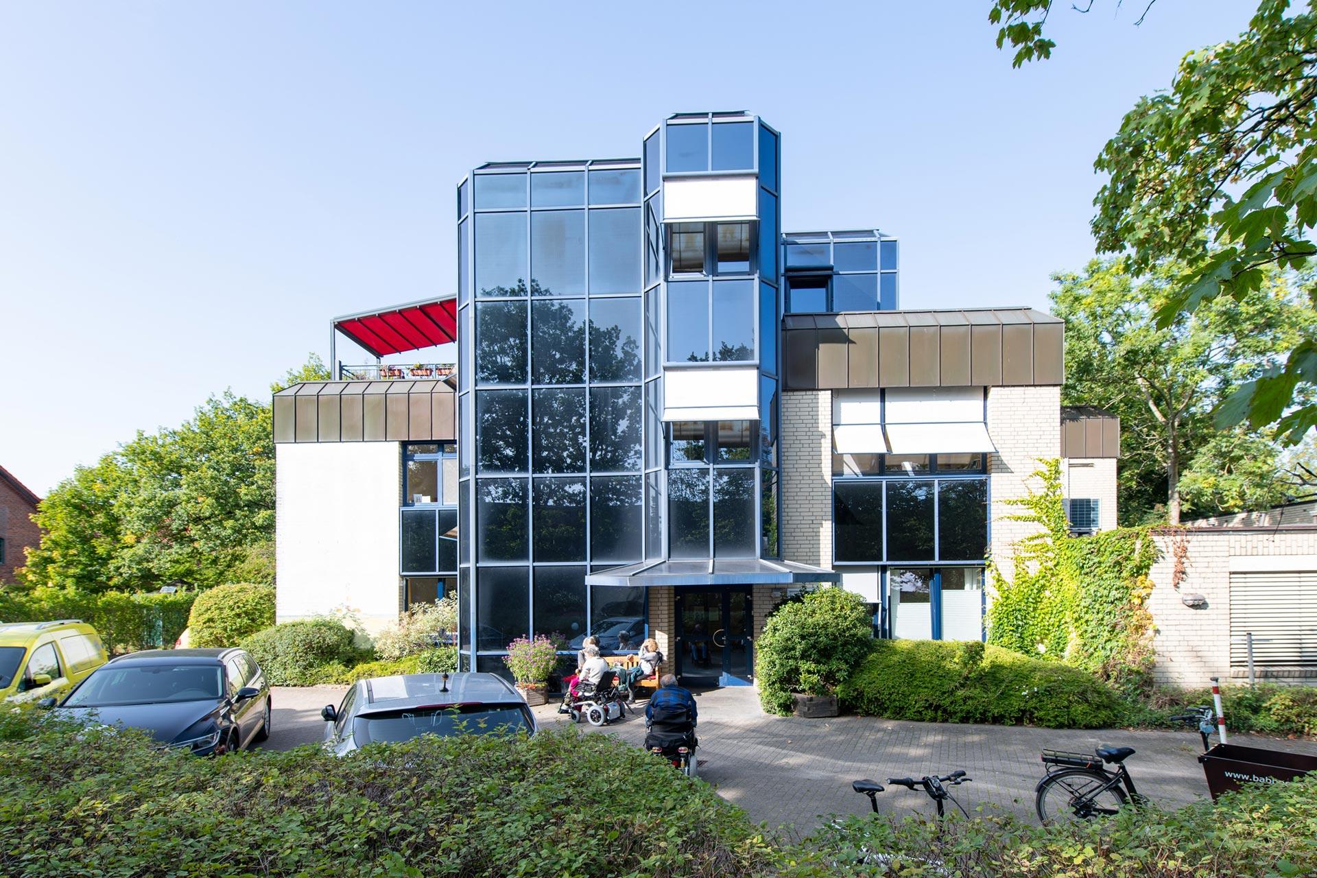 Hospiz Hamburg Hospiz Sinus Othmarschen Aussenansicht